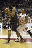 Basketball Emporio Armani 7 Royalty Free Stock Photography