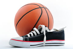Basketball equipment Royalty Free Stock Image