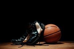 The basketball equipment Stock Photo