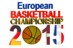Basketball European Championship 2015 Stock Images