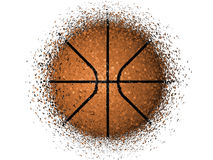 Basketball exploding Stock Photos