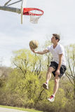 Basketball Fancy Layups Royalty Free Stock Images