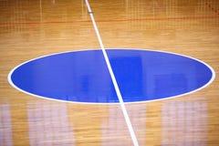 Basketball field background Stock Photos