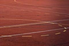 Basketball field Stock Photography