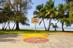 Basketball Field Royalty Free Stock Image