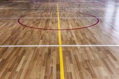 Basketball Floor Stock Image