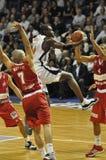 Basketball-Frankreich championnat. Lizenzfreies Stockbild