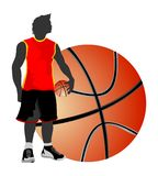 Basketball free style Stock Photos