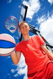 Basketball  fun Stock Photography