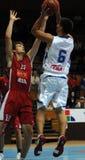 Basketball game Stock Image