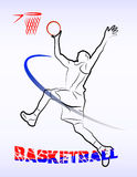 Basketball game Royalty Free Stock Photography