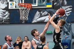 Basketball game Stock Photos