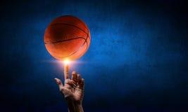 Basketball game concept Royalty Free Stock Photos