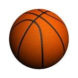 Basketball getrennt Lizenzfreie Stockfotos