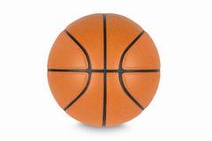 Basketball getrennt auf weißem Hintergrund Stockbilder