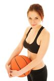 Basketball Girl #1 Stock Photo