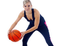 Basketball Girl Stock Photos