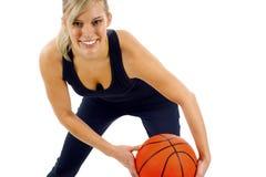 Basketball Girl Stock Photography