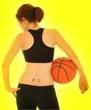 Basketball Girl #6 Stock Photo