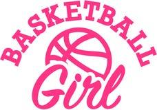 Basketball Girl Royalty Free Stock Photo