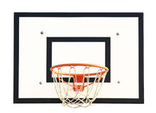 Basketball Goal. On white background royalty free stock photos