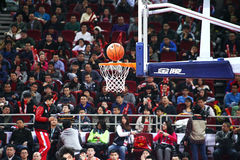 The basketball goal Stock Images