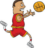 Basketball Grab Stock Photography
