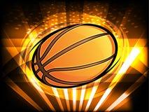Basketball-Grafik Stockfotografie