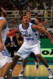 Basketball, Greece vs Serbia, Tsartsaris Stock Images