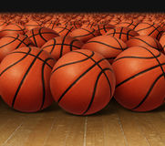 Basketball Group Royalty Free Stock Image
