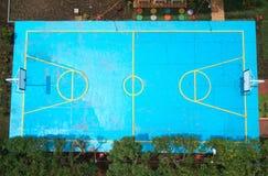 Basketball grunge court Stock Photos