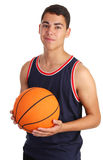Basketball guy Royalty Free Stock Photos