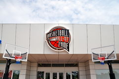 Basketball Hall of fame Royalty Free Stock Photo