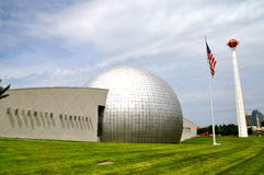 Basketball Hall of fame. In Springfield, Massachusetts Stock Photography