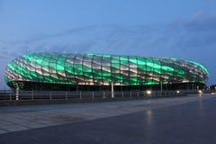 Dalian football stadium Stock Photo