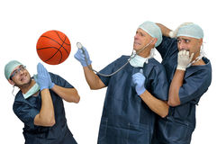 Basketball health Stock Image
