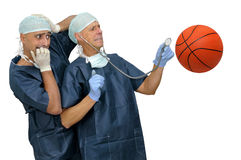 Basketball health Royalty Free Stock Photos
