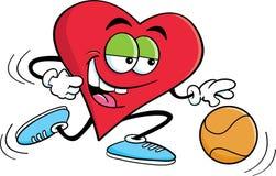 Basketball Heart Stock Image