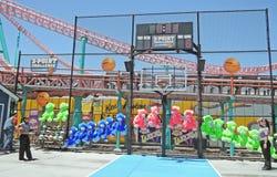 Basketball-Herausforderung Lizenzfreies Stockbild
