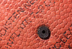 Basketball hole Stock Images