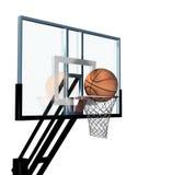 Basketball hoop. Isolated on white background Royalty Free Stock Image