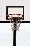 A Basketball Hoop. With A Net Royalty Free Stock Photo