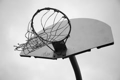 Basketball Hoop 2 Royalty Free Stock Photo