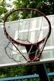 A basketball hoop. On the street basketball court Stock Photography