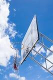 Basketball hoop. Against the blue sky Stock Photos