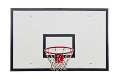 Basketball hoop. On white background Royalty Free Stock Photography