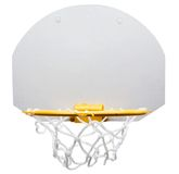 Basketball hoop. Isolated over white Stock Photo