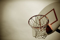 Basketball Hoop royalty free stock image