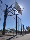Basketball Hoop. Urban Street Court royalty free stock photography