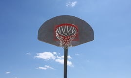 Basketball hoop Stock Photography